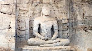 Polonnaruwa, Buddha, Ceylon Travel