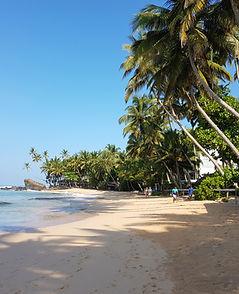 Talpe Beach- Sri Lanka . Ceylon Travel A