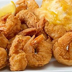 Cajun Shrimp and fries