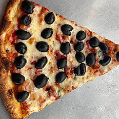 PIZZA WITH BLACK OLIVE