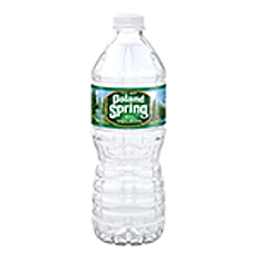 BOTTLED WATER (POLAND SPRING)