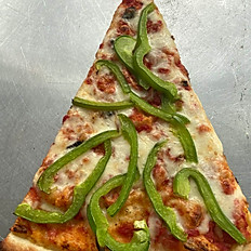 PIZZA WITH GREEN PEPPER