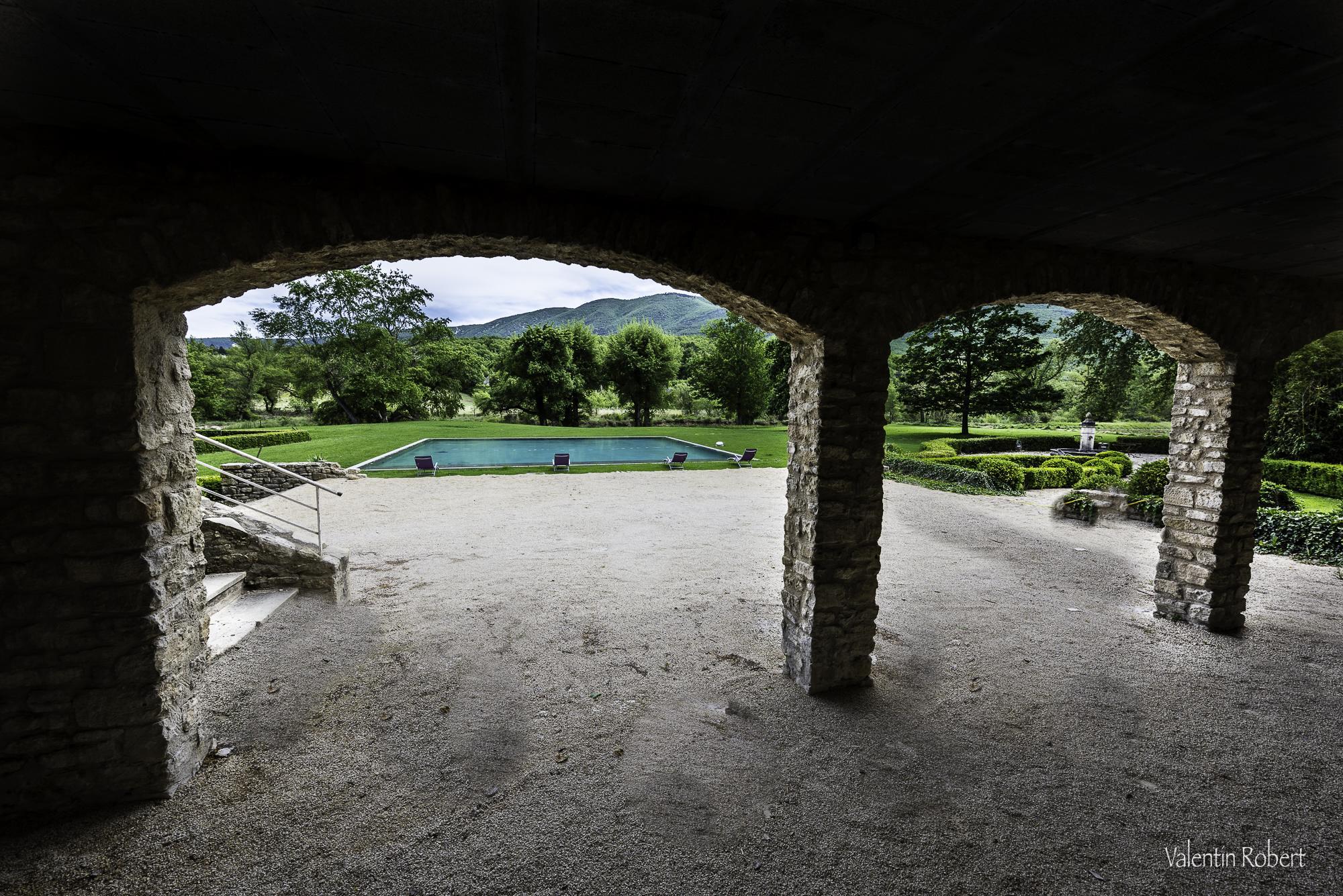 le parc du chateau du griffon