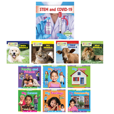 STEM and Covid-19 Book Set