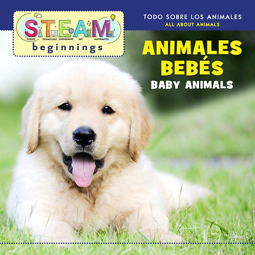 STEAM Beginning Baby Animals/ Animales de Bebe