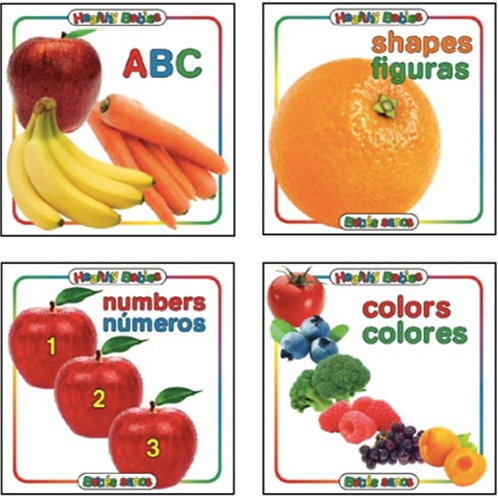 Healthy Babies Bilingual Book Set