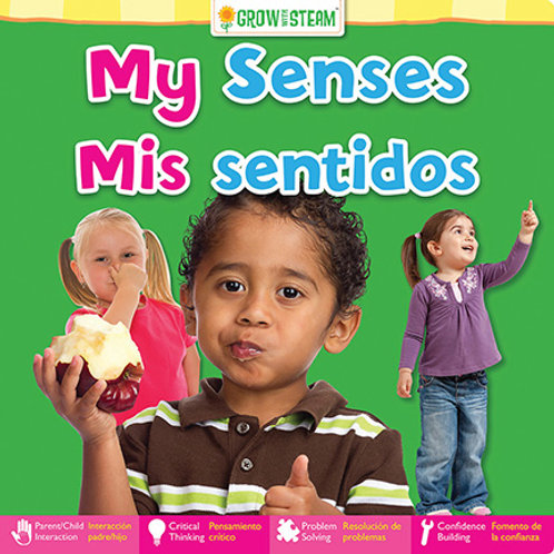 Grow with STEAM – Bilingual My Senses