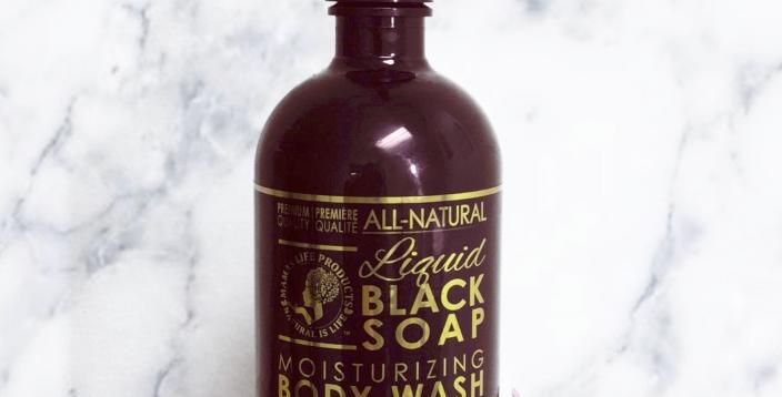LIQUID BLACK SOAP - MOISTURIZING BODY WASH