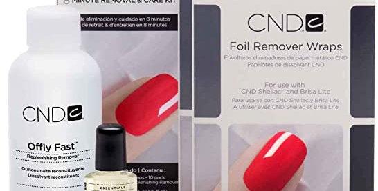 CND Shellac/Gel polish removal home kit