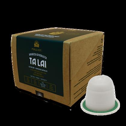 50% PROMO - TALAI Direct Trade Arabica & Robusta 10 capsules/Box - Intensity