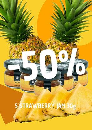 50%OFF Pineapple Jam 30gr