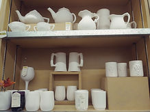 Tea pots, jugs and beer and wine.jpg