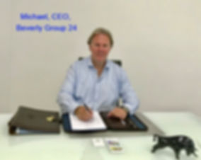 Michael, CEO, CFO, Beverly Group 24