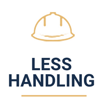 less handling