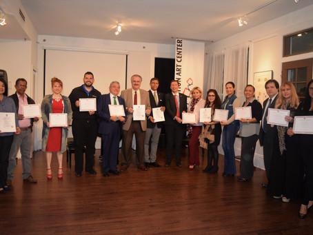 Mediation Students graduate from Certificate Program