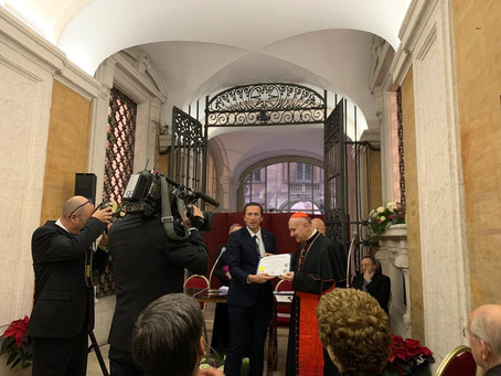 His Eminence Cardinal Angelo Comastri joins the Advisory Board (Vatican, Rome)