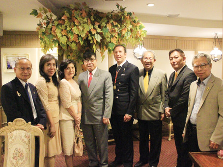 University hosts event in Bangkok to honor the Royal House of Laos