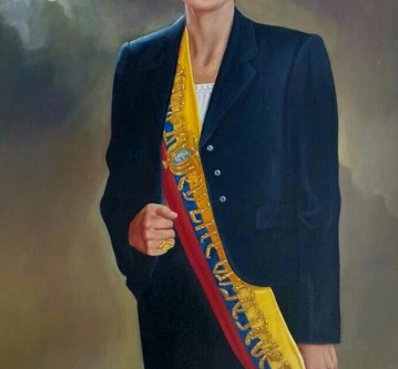 President Arteaga Serrano joins the IASS as a numbered academician (Medal#25)