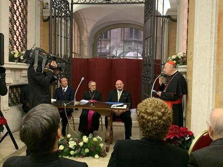 Ambassador Otto F. von Feigenblatt received the 500th Anniversary Commemorative Medal in Rome