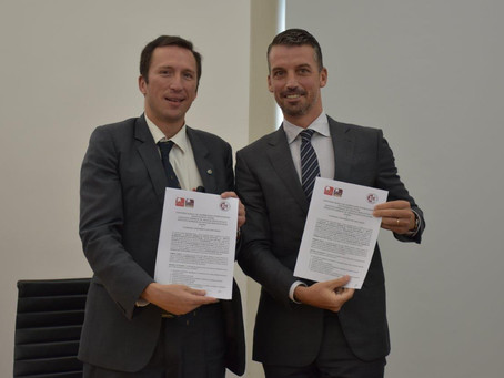 UCNE signed agreement with ISCE of Portugal (Lisbon)