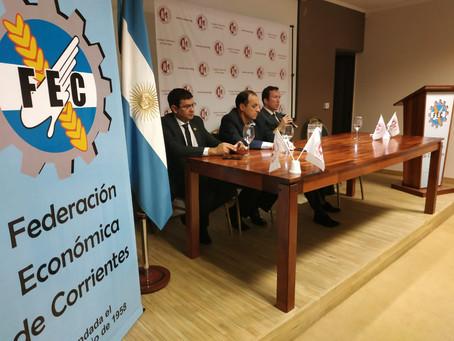 UCNE and the Federacion Economica de Corrientes organized symposium about International Commerce