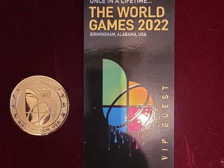 Dr. von Feigenblatt to attend The World Games 2022 as VIP Guest!