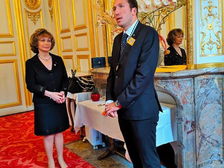 Ambassador Otto F. von Feigenblatt received prestigious Medal of the Senate of the French Republic