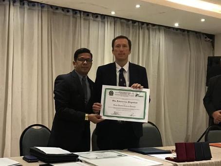 Ambassador von Feigenblatt receives Honorary Doctorate of Education from Brazilian university