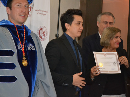 UCNE held its Certificate Programs Graduation on the 18th of April at the Aloft Hotel (Florida)