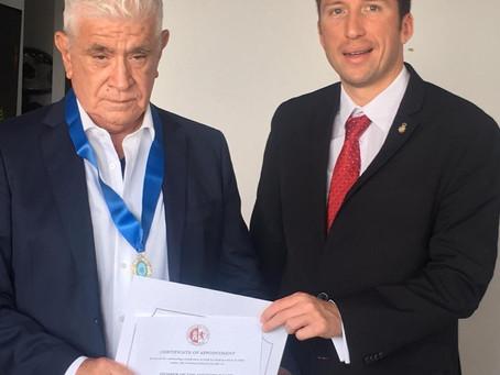 44th President of Ecuador, Dr. Alfredo Palacio, joins the advisory board