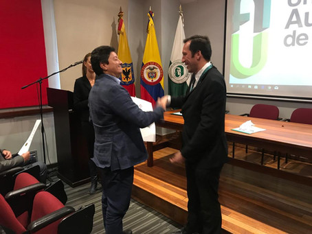 UCNE signs agreement with the Universidad Autonoma de Colombia