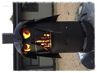 Metal Fabrication and welding, Darth Vader Heater