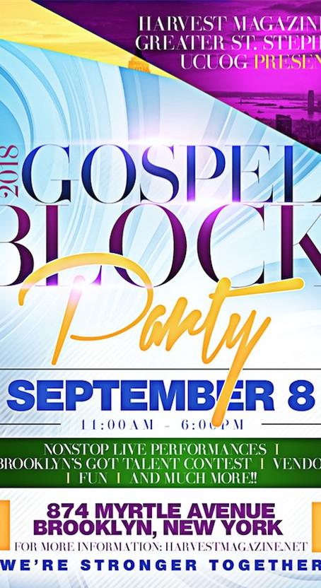 Brooklyn's BIGGEST Gospel Block Party