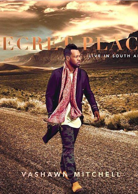 Vashawn Mitchell Releases Cover Art For New Album Secret Place
