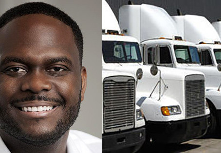 Once Homeless, This Black Entrepreneur Now Owns a $20 Million Trucking Company