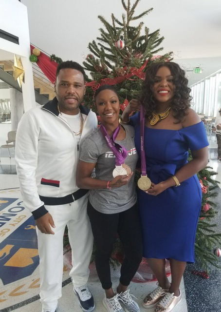 Olympian Carmelita Jeter and More Gives Back This Holiday