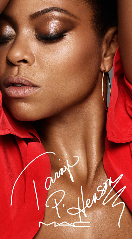 Taraji Collabs with Mac Cosmetics for Exclusive Capsule Collection