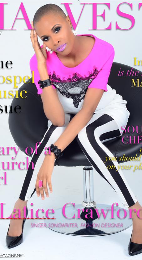 LATICE CRAWFORD - April Cover Girl