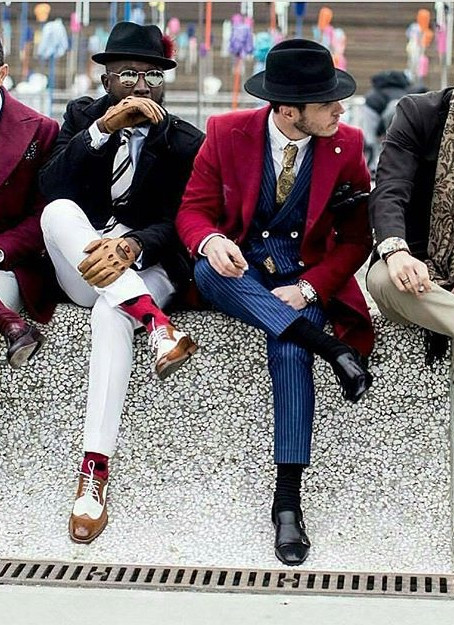 The Streets of Florence for Pitti Uomo is trending with high fashion - The Gents Edition