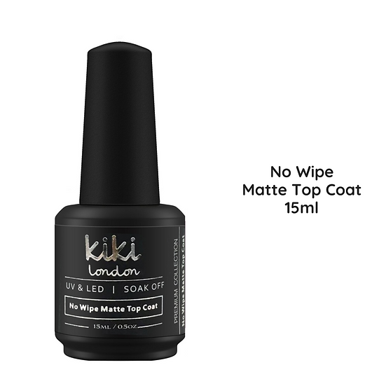 15ml Matte Top Coat - No Wipe - Velvet