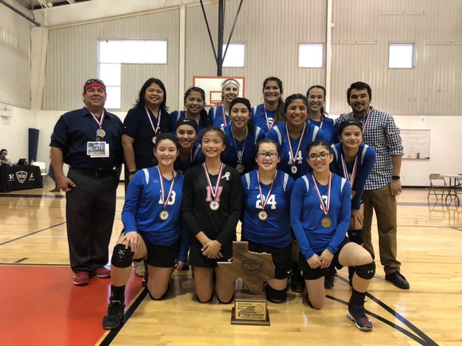 1A TCAL Volleyball State Champions