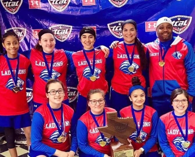 1A TCAL Girls Basketball Champions