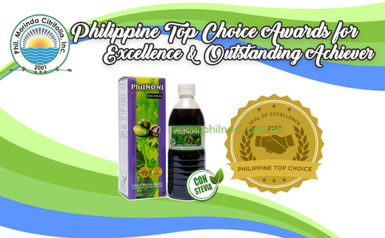 PhilNONI nominated for Philippine Top Choice Awards for Excellence 2017