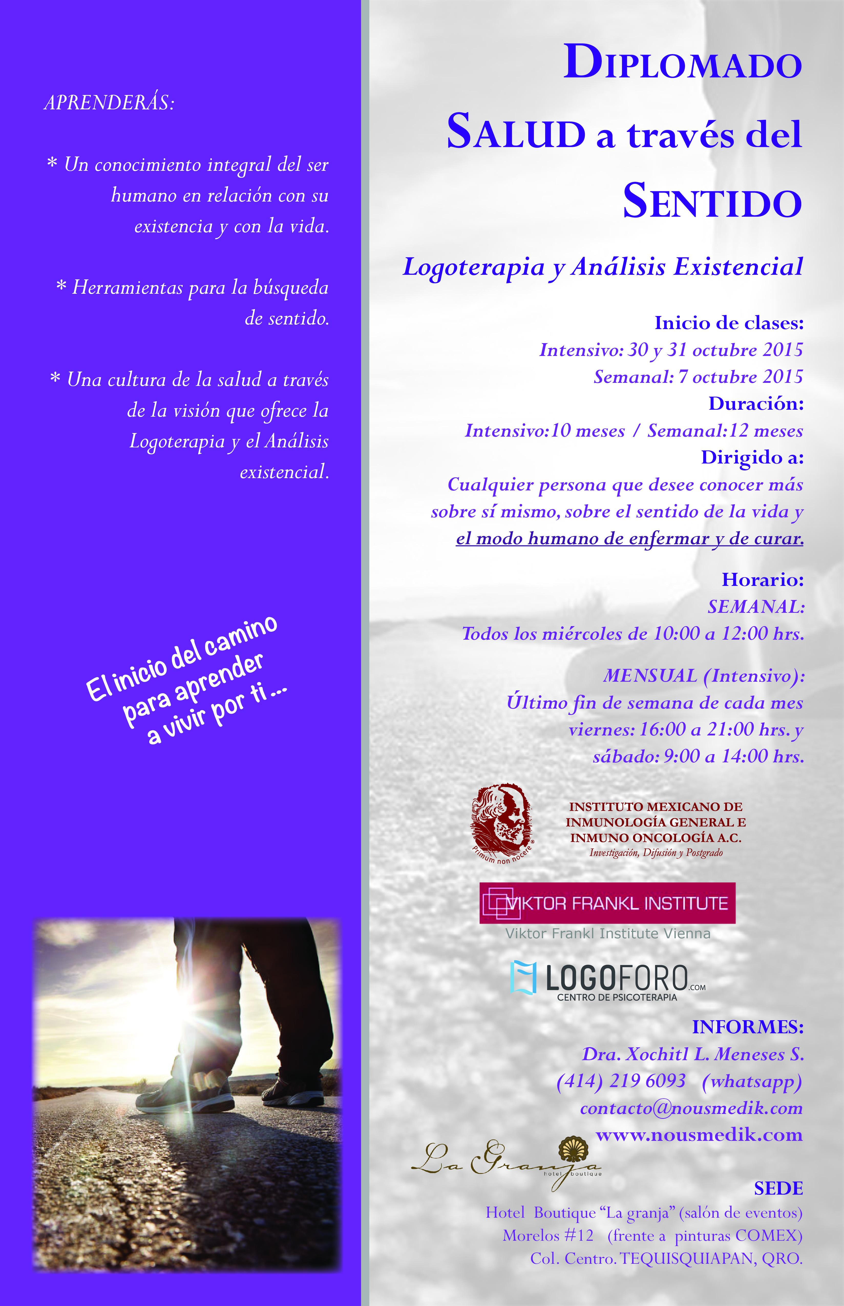 Análisis existencial y logoterapia