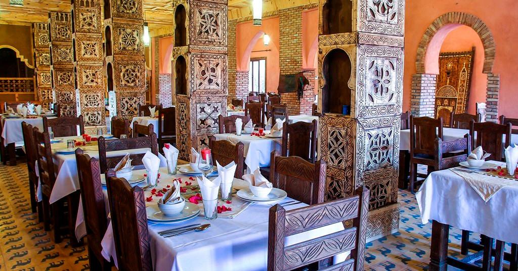 Restaurante - Nomad PAlace