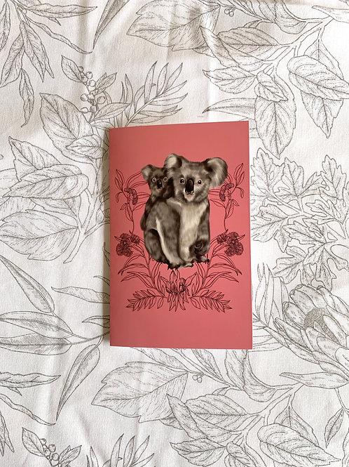 Greeting Card: Koala