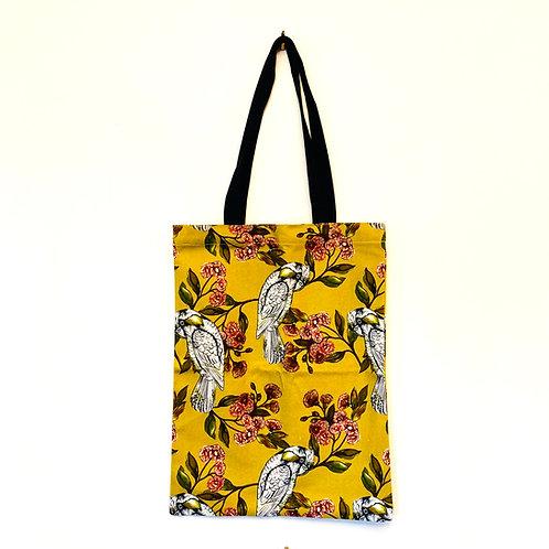 Sulphur Parrot Tote Bag