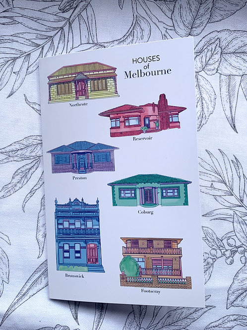 Houses of Melbourne Card