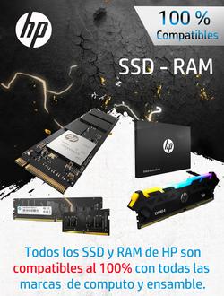 HP SSD RAM