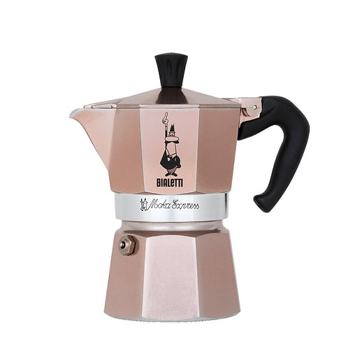 CAFETERA BIALETTI 6 TAZAS ROSE GOLD